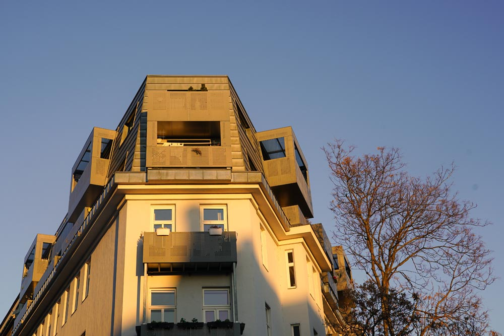 Hausverwaltung einer Dachgeschoss-Wohnung in Wien
